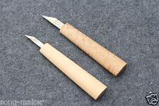2 pcs  violin Guitar maker tool knife Carve Violin Guitar Steel Blade Yinfente