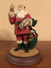 "New In Box, Danbury Mint, Classic Santa Claus Collection ""A Drum For Tommy"" Coa"