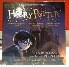 Harry Potter  Books 1-3 by J.K. Rowling (Audio CD)