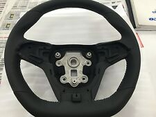 Genuine VF HSV Steering wheel Leather 2013 - 2017 Black with silver stitching