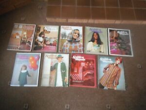 GOLDEN HANDS 9 x  1970's Magazines Issues  20 - 29 ( Issue 27 is missing )
