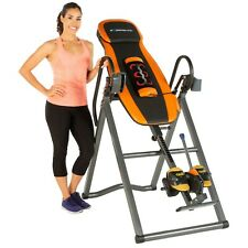 Massage Therapy Inversion Table Certified Heat Airsoft No Pinch Ankle Holders