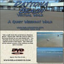 VIRTUAL WALK On DAYTONA BEACH, Great for use with Exercise equipment, DVD