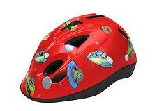 Casco infantil Niño Niña ciclismo color rojo 47-53 cm para bicicleta 6134rojo