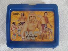 WWF lunchbox HULK HOGAN ANDRE THE GIANT RODDY PIPER 1985 WWE Titan Sports