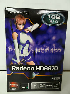 Sapphire RADEON HD 6670 1GB DDR3 Graphics Card
