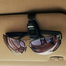 Pro Auto schwarz  Brillenhalter Sonnenbrille Ticket Clip Halter Klammer DSA