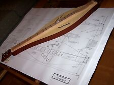 Dulcimer mountain   Plans   actual size - Full scale   detailed