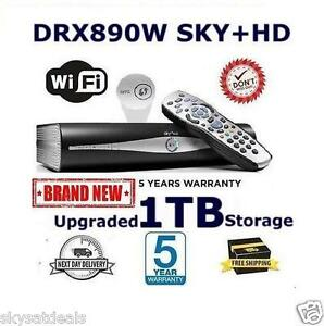 SKY PLUS + HD BOX WIFI - 1TB - SKY AMSTRAD DRX890W BUILT IN WIRELESS ON DEMAND