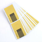 100Pcs Nail Art Tips Extension Forms Guide French Cicada DIY Tool Acrylic UV Gel