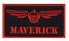 Top Gun movie Maverick Pete Mitchell Iron on Sew on Patch (MTP1)