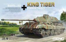 Meng Model 1/35 TS-037 German Sd.kfz.182 King Tiger Porsche Turret