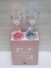 HELLO KITTY DEAR DANIEL WEDDING GLASSES CHAMPAGNE FLUTES W/ ORIGINAL BOX SANRIO