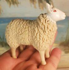 "Sheep Miniature Figurine Toy Pvc Unique 2.5 X 3"""