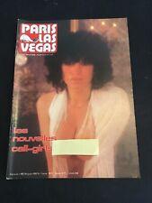 [7879-M18] Paris Las Vegas n°65 - Magazine - Curiosa Erotica Pin up - Revue