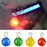 Mini Pet Dog Cat Puppy LED Flashing Collar Safety Night Light Keyring Pendant CN