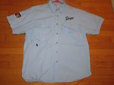 Ranger Boat/Cup Blue Vented Short Sleeve Fishing Shirt Size Small
