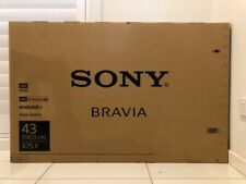 "Sony Bravia TV - 43"" X75F LED 4K ULTRA HDR ANDROID TV"