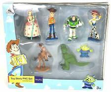 Toy Story PVC 7 Figure set: Buzz, Woody, Little Green Man,Bo Peep, Bullseye,Rex