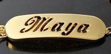 Gelb Vergolde Namensarmband - MAYA - Geschenke für ihn Benutzerdefinierte