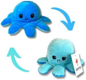 Shop Petrie Reversible Octopus Plush, Mood Octopus, Octopus Plush Soft Toy