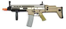 Echo 1 SCAR Tan 350fps Airsoft AEG Rifle Gun Metal Upper Gears Box Closeout NEW