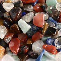 100g/lot Natural Crafters Rock chips Collection Crystals Minerals Specimens Gift