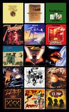 "ZZ TOP album discography magnet (4.5"" x 3.5"")"