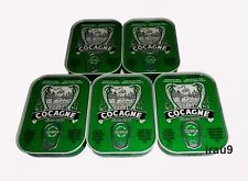 5 Cans Sardines Cocagne Skin & Boneless in Olive Oil Portuguese 105g Each 3.7oz