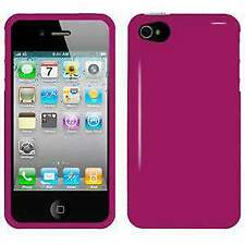 AMZER Injecto Snap On Hard Case Cover for iPhone 4, iPhone 4S - Hot Pink
