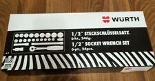Würth Zebra Steckschlüssel Satz 1/2 Zoll 24tlg. Neu und OVP.