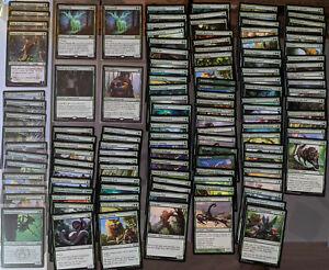 MTG Karten, Sammlungsauflösung, Grün, Zauber, Kreaturen, 121 C/U, 4 Rare