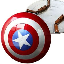 1:1 Captain America Shield ABS Replica Metal Color Avengers Cosplay Collection
