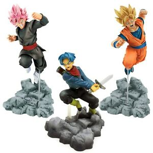 Banpresto Dragon Ball Super Soul X Soul Son Goku Trunks Goku Black Figure