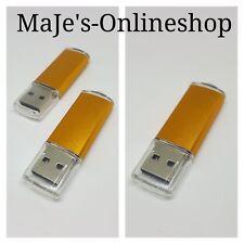 ☆ USB Stick 2.0 Orange 8 GB Massenspeicher Neu ☆