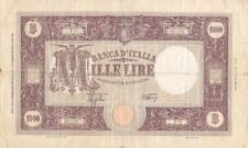 More details for #banca d italy 1000 lire 1943 p-72 af azzolini & urbini
