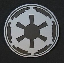 3D IMPERIAL GALACTIC EMPIRE STAR WARS LOGO ARMY ACU VELCRO® BRAND FASTENER PATCH