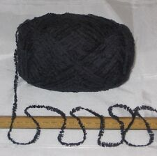 95g Dark Blue Snuggly soft feather / fluffy knitting wool yarn trim DK by Sirdar