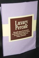 "PAIR OF SQUARE PILLOWCASES PILLOW CASES 65x 65cm ( 26""x 26"") - Lilac"