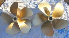 "Michigan Wheel M-500 30 x 36 5 Blade Nibral Inboard Propeller Set With A 3"" Bore"