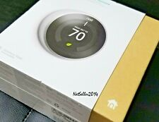 NEW Nest Learning Smart Thermostat w/ WiFi Capability 3rd Gen Stainless T3007ES