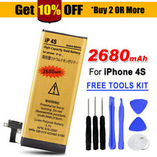 OZ 2680mAh High Capacity Replacement Internal Battery Free Tools For iPhone 4S