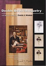 David J. Marks Double Bevel Marquetry  DVD Marquetry Instruction DIY  video