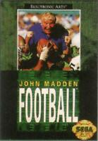 John Madden Football- Sega Genesis Game Only
