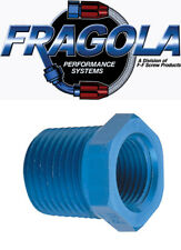 Fragola 491202 1/4 to 3/8 NPT Aluminum Pipe Reducer Bushing IMCA USRA NHRA