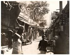 Photograph The Loose Wallah Bazaar Peshawar Pakistan Afganistan War 1928/1929 1