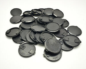 Unbranded 55mm Front Lens Cap Lot Qty-30  (#T653)