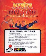 Ninja Commando Neo Geo Arcade Marquee