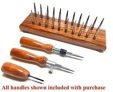 Sakakeeny Bassoon Drying Rack-2 FREE Handles-22 HEX based REMOVABLE Pins-BUBINGA
