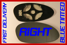 BMW 1 SERIES E82 COUPE 2007-2009 DOOR MIRROR GLASS BLUE TINTED HEAT RIGHT